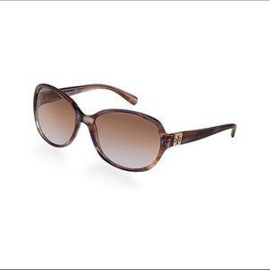 Tory Burch turquoise sunglasses